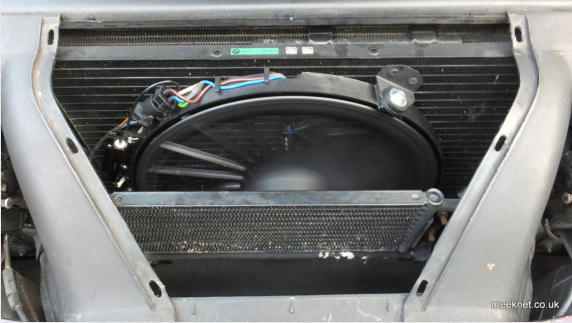 Bmw E31  840ci And 850ci  Auxiliary  A  C  Fan Replacement