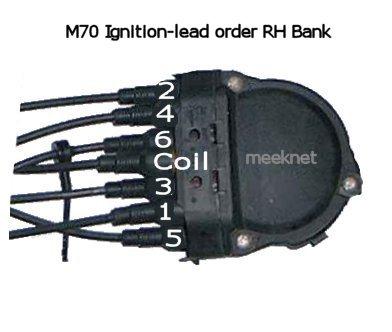 Bmw E32 E38 V12 Distributor Lead Order M70 M73