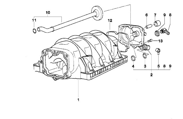740i intake manifolds pre 09 98 and post 09 98. Black Bedroom Furniture Sets. Home Design Ideas