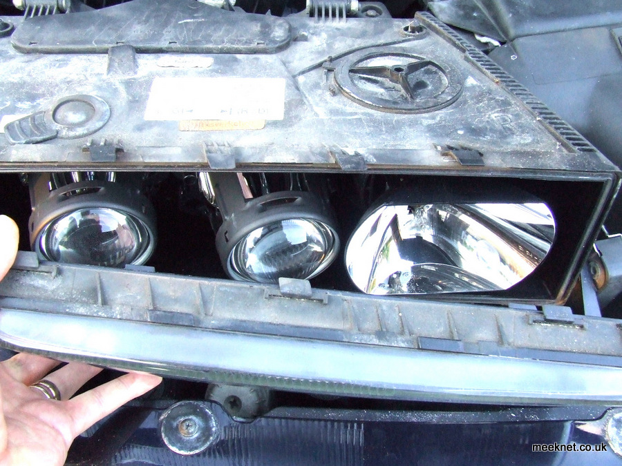 BMW E31 840ci 850i Headlight Performance Improvements