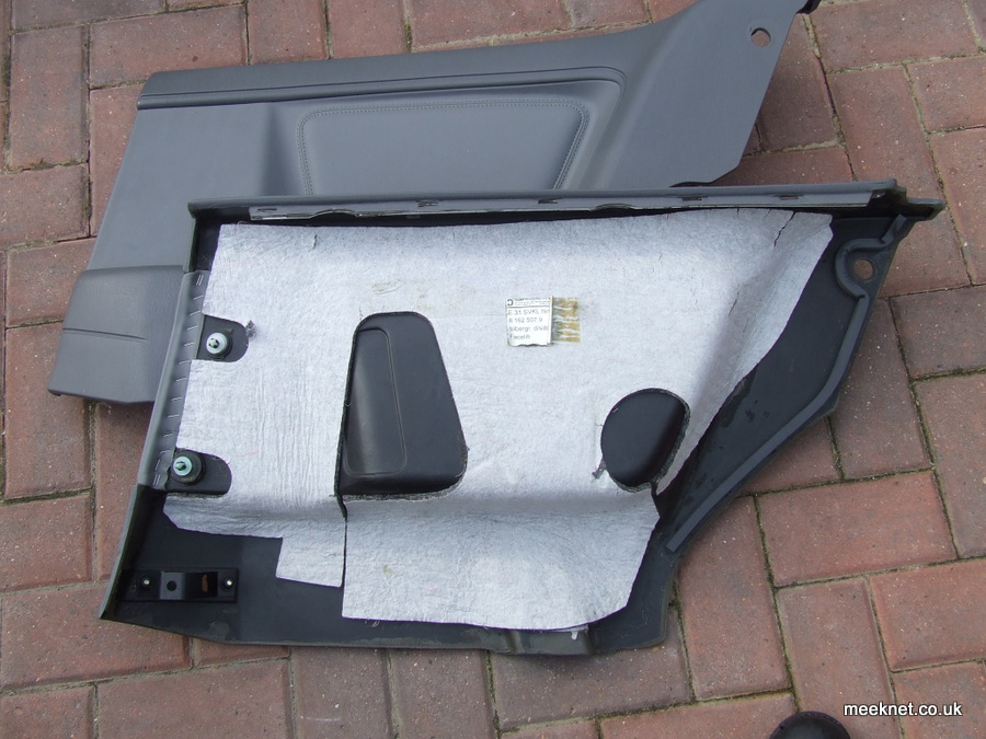 BMW 840ci 850i E31 Door Card Replacement 8-Series