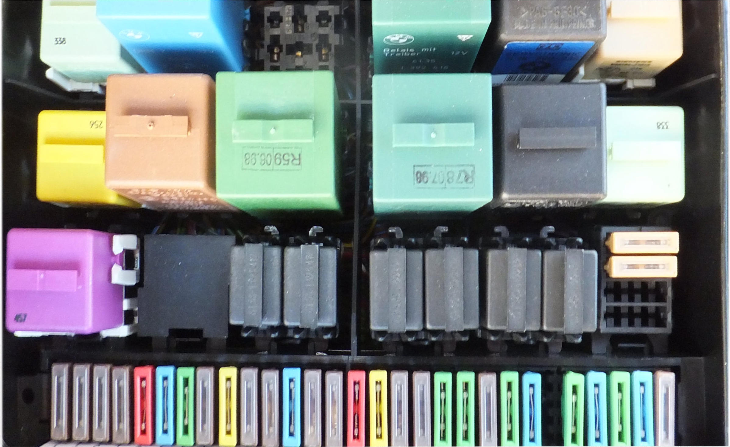 bmw 840 fuse box | wiring library bmw 530i fuse box