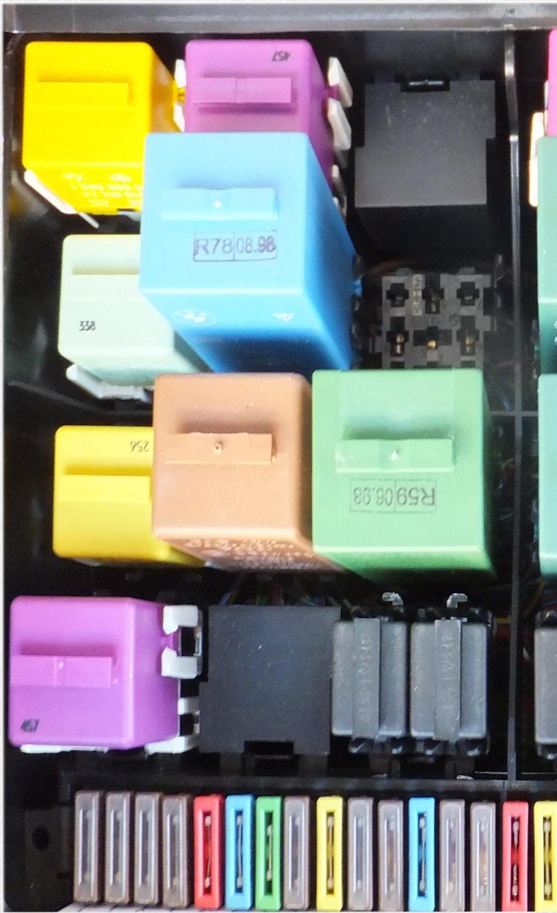 Timms Bmw E31 Relay Finder 3 Terminal Flasher K4 Socket X58 A C Blower Via F21 F19