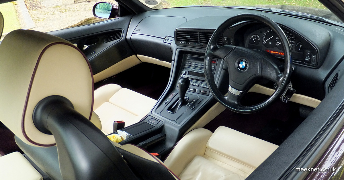 Timm's BMW E31 8-Series Repair And Information